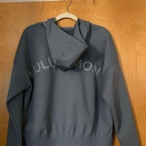 Shaped Jacket- Sterling Color